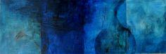 """""""4xWasser"""" Aquarell auf Leinwand, mehr unter: http://kunstreginabasaran.beepworld.de/"""