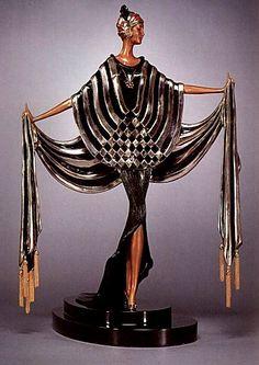 Роман Петрович Тыртов (1892 - 1990), более известный всему миру под псевдонимом Эрте - был одним из ведущих творцов стиля ар деко.