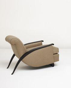 Jacque-Emile Ruhlmann Art Deco Chairs