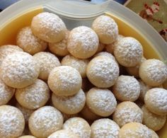 Dinschen's Vanillekugeln (ohne Ei) super einfach und schnell