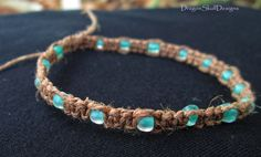 Hey, I found this really awesome Etsy listing at http://www.etsy.com/listing/153205282/frosted-seafoam-hemp-bracelet