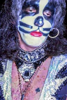 Kiss Images, Kiss Pictures, Kiss Photo, Photo Art, Peter Criss, Image Archive, Emerald City, Photo Sessions, Halloween Face Makeup