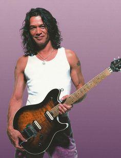 Eddie Van Halen...so crazy about this picture!