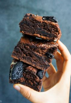 Double Chocolate Oreo Brownies Follow Hypepress on instagram