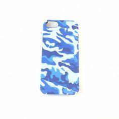 Coque camouflage militaire Bleu iPhone 5, 5s, SE