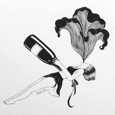 Metáforas ilustradas por Henn Kim;