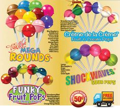 Lollipop Fundraising is a great way to raise money with your next school fundraiser! Order your Lollipops and start fundraising! http://www.abcfundraising.com/lollipop-fundraiser.htm