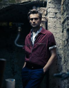Douglas Booth for Interview magazine