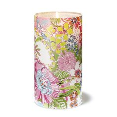 Love what I found! #LillyforTarget Check out the collection now. Target.com/Lilly  Glass Hurricane Candle Holder in Nosie Posey (10 inch) $20