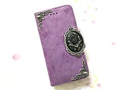 Rose phone removable leather wallet case, handmade phone wallet cover for iPhone 6 6s 7 Plus Samsung Galaxy S8 S8 Plus S7 Edge S6 Edge MN0621