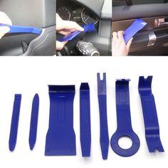 QILEJVS 7Pcs/Set Car Interior Dash Radio Door Clip Panel Trim Open Removal Tools Kit #Affiliate