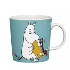 Moomin is a little troll with a positive attitude who is always on a voyage of discovery in the world. He admires the wandering vagabond, Snufkin, but would himself rather fall asleep in his own bed.  When buying Moomin designs you buy more than just a mug. You buy a thought and a positive attitude towards life. That is why Moomins are the perfect gift both for yourself and your loved ones.