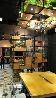 coffee CitiHub-Coworking space - House Design