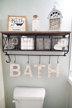 Bathroom Makeover Decor