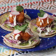 Beer-battered Shrimp Tacos Recipe by Tasty