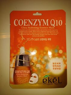 EKEL Natural Beauty Coenzym Q10 Ultra-Hydrating Facial Mask Sheet Pack 1PCS #EKEL