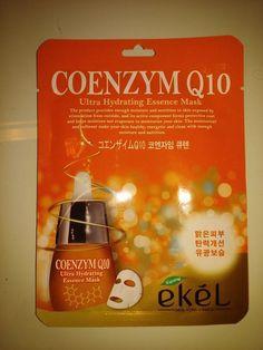 EKEL Natural Beauty Coenzym Q10 Ultra-Hydrating Facial Mask Sheet Pack 1PCS #EKEL