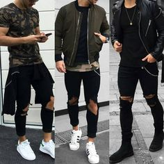1, 2 or 3?  Style by: @nemanja_grujic Whatcha say  or ? Leave a comment