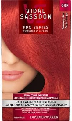 Vidal Sassoon Pro Series Permanent Hair Color, London Luxe, Runway Red 6RR - Brought to you by Avarsha.com