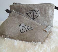 Mini pochettes Diamant