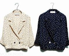 dots jacket.