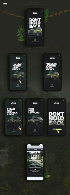Jeep Interactive Rich Media on Behance
