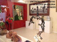 Exposição dos Artistas de Búzios Galeria Flory Menezes - Rua das Pedras, Búzios