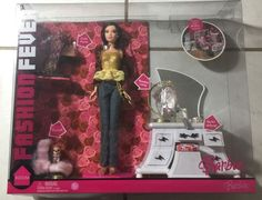 Barbie Fashion Fever Fuzzy /purse / Lamp  Style Space Room NRFB