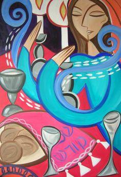 Shabbat Candles - Karla Waller
