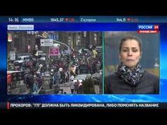 Митингующие перекрыли Крещатик и требуют к себе Кличко