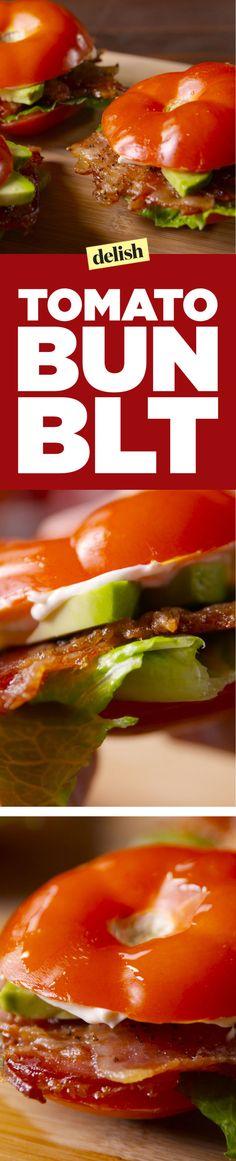 Tomato Bun BLT Is a Low-Carb Dream  - Delish.com