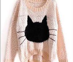 Cat Big Yards Sweater