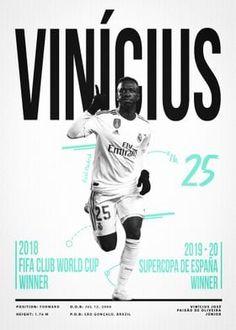 Metal Poster Vinicius Junior 25