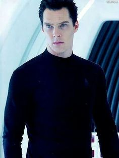 Khan //   Who CARES if I have already posted this picture?!?  It is AWESOME!!!!  Benedict Cumberbatch