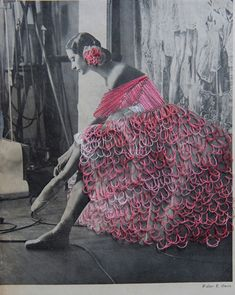 embroidered ballerinas- / DANCE - Jose Romussi