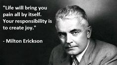 Milton Erickson Quotes