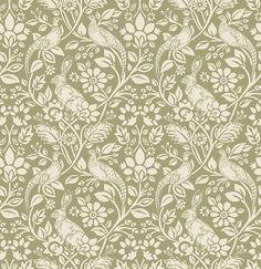 Heathland Moss wallpaper by iliv