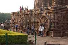 The magnificent Sun Temple at Konark is the culmination of Orissan temple architecture, and one of the most stunning monuments of religious architecture in the world. The poet Rabindranath Tagore said of Konark that 'here the language of stone surpasses the language of man', and it is true that the experience of Konark is impossible to translate into words.