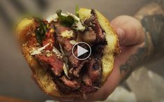 Action Bronson laver verdens ondeste sandwich