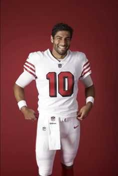 Jimmy G man 49ers Players, 49ers Fans, Nfl Football Players, American Football Players, Dallas Cowboys Football, Football Boys, Pittsburgh Steelers, Indianapolis Colts, Denver Broncos