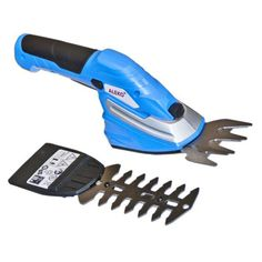 Aleko Products 2-In-1 Combo Cordless Compact Grass and Shrub Trimmer - AP213BLUE