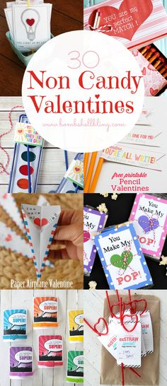 This collection of 30 non candy valentine ideas and free printables will have yo.This collection of 30 non candy valentine ideas and free printables will have your kid ready for the school party in no time! Source by jrfindl. Funny Valentine, Roses Valentine, Valentine Love, Kinder Valentines, Valentines Day Party, Valentine Day Crafts, Holiday Crafts, Preschool Valentine Ideas, Valentines Ideas For Preschoolers