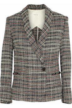 Étoile Isabel Marant Gabe tweed blazer | NET-A-PORTER