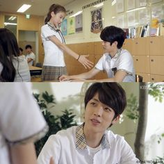 Hi School: Love On ♡When Seul-Bi meets Seung-Yeol for the second times at School and She remember that He's the umbrella boy