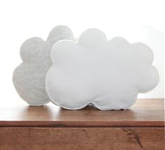 WHITE CLOUD PILLOW // Organic Cotton by DESIGNSQUISH on Etsy, $35.00