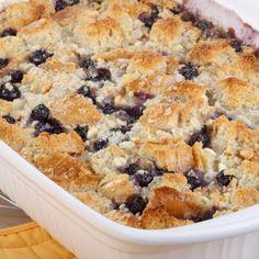 Healthy Dessert Recipe: Peach-Blueberry Cobbler -Shape Magazine @Tyra Linder Nesbett