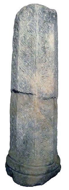 Marmi di San Salvatore a Brescia.  Fusto di colonna