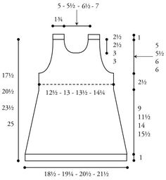Sweet and Simple Baby Dress Chart
