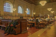 'New York Public Library' another sight i'd like to see!