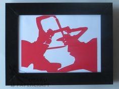 Subject: Alexander Anderson and Alucard / From: Hellsing / Size: 16,6 x 22,6cm / Price: 8 euros